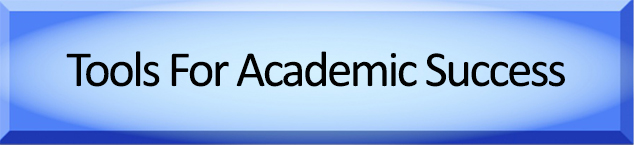 Tools for Academic Success Button